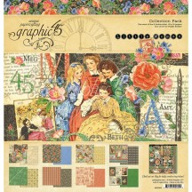 "Graphic 45 Little Women 12""x12"" Collection Pack 4501659"
