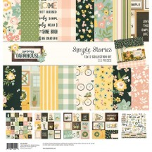 "Simple Stories Spring Farmhouse 12""x12"" Collection Kit 1083"
