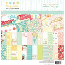 """Webster's Pages Party Time! 12""""x12"""" Collection Pack WPK67"""