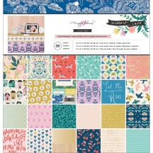 "Crate Paper Maggie Holmes Willow Lane 12""x12"" Paper Pad 344492"