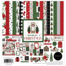 """Carta Bella Home for Christmas 12""""x12"""" Collection Kit HFC139016"""