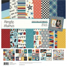 "Simple Stories Bro & Co 12""x12"" Collection Kit 13000"