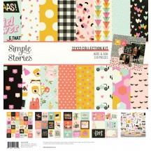 "Simple Stories Kate & Ash 12""x12"" Collection Kit 13100"