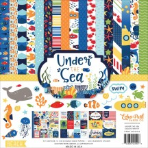 "Echo Park Under The Sea 12""x12"" Collection Kit US131016"