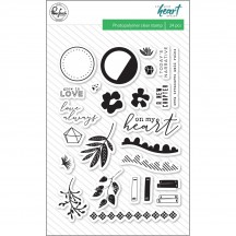 "Pinkfresh Studio Let Your Heart Decide 4""x6"" Clear Stamp Stamp Set PFHD101318"