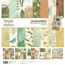 "Simple Stories Simple Vintage Great Escape 12""x12"" Collection Kit 13200"