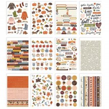 Simple Stories Cozy Days Sticker Book 13518