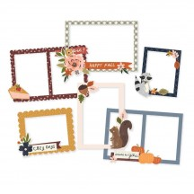 Simple Stories Cozy Days Chipboard Frames 13519
