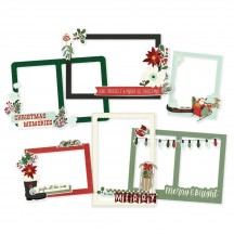 Simple Stories Jingle all the Way Christmas Chipboard Frames 13719