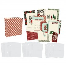 "Simple Stories Jingle all the Way Christmas Sn@p! Binder 6""x8"" Album & Accessories 13733"