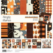 """Simple Stories Boo Crew Halloween 12""""x12"""" Collection Kit 13800"""