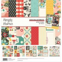 "Simple Stories Apron Strings 12""x12"" Collection Kit 14000"