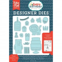 Echo Park Designer Dies Happy Birthday To You Universal Cutting Die Set HBB141042