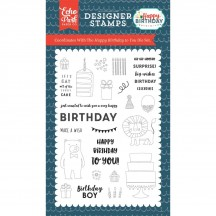 Echo Park Happy Birthday To You Clear Stamp Set HBB141043
