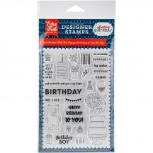 Echo Park Happy Birthday To You Clear Stamp Set & Die Set