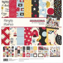 "Simple Stories Say Cheese Main Street 12""x12"" Collection Kit 14200"