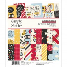 "Simple Stories Say Cheese Main Street 6""x8"" Double-Sided Paper Pad 14214"