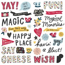 Simple Stories Say Cheese Main Street Foam Stickers 14220