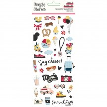 Simple Stories Say Cheese Main Street Puffy Stickers 14221