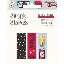 Simple Stories Say Cheese Main Street Washi Tape 3 Roll Pack 14224