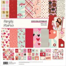 "Simple Stories Sweet Talk 12""x12"" Collection Kit 14300"