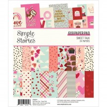 "Simple Stories Sweet Talk 6""x8"" Double-Sided Paper Pad 14314"