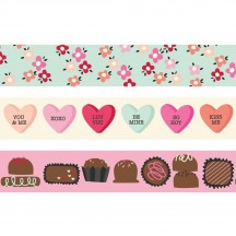 Simple Stories Sweet Talk Washi Tape 3 Roll Pack 14323