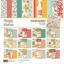"Simple Stories Hello Today 12""x12"" Collection Kit 14400"