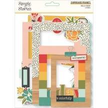 Simple Stories Hello Today Chipboard Frames 14419