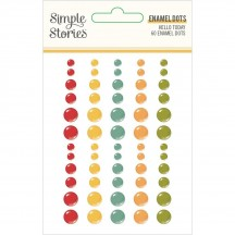 Simple Stories Hello Today Enamel Dots 14423