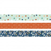 Simple Stories Safe Travels Washi Tape 3 Roll Pack 14824