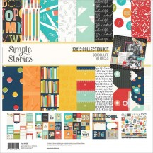 "Simple Stories School Life 12""x12"" Collection Kit 14900"
