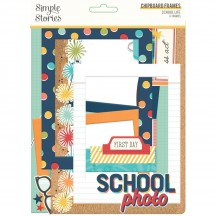 Simple Stories School Life Chipboard Frames 14919