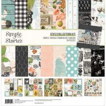 "Simple Stories Simple Vintage Farmhouse Garden 12""x12"" Collection Kit 15000"
