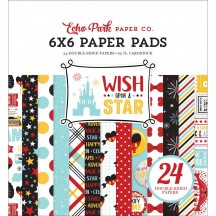 "Echo Park Wish Upon A Star 6""x6"" Double-Sided Paper Pad 24 Sheets WST150023"