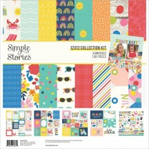 "Simple Stories Sunkissed 12""x12"" Collection Kit 15100"