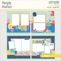Simple Stories Sunkissed Sunny Days Page Kit 15127
