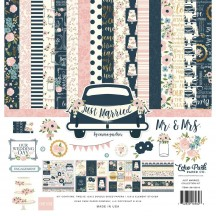 "Echo Park Just Married 12""x12"" Collection Kit JM153016"