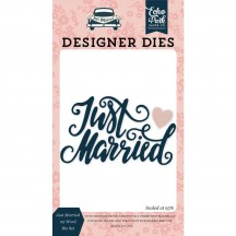 Echo Park Designer Dies Just Married Universal Cutting Die Set JM153042
