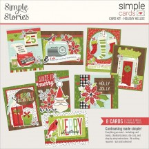 Simple Stories Make It Merry Christmas Holiday Hellos Card Kit 15731