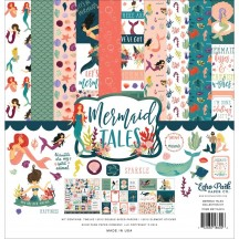 "Echo Park Mermaid Tales 12""x12"" Collection Kit MET154016"