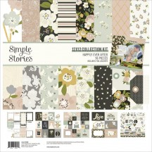 "Simple Stories Happily Ever After Wedding 12""x12"" Collection Kit 15500"