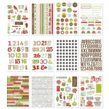 Simple Stories Make It Merry Christmas Sticker Book 15719
