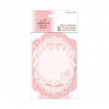 doCrafts Papermania Capsule Collection Wild Rose Die-cut Notelets 157237