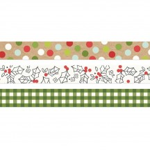 Simple Stories Make It Merry Christmas Washi Tape 3 Roll Pack 15725