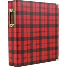 "Echo Park Red Plaid 6""x8"" Album CCH159066"