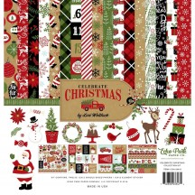 "Echo Park Celebrate Christmas 12""x12"" Collection Kit CCH159016"