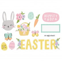 Simple Stories Easter Page Pieces Die-Cut Cardstock Embellishments 15907