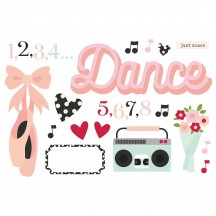 Simple Stories Dance Page Pieces Die-Cut Cardstock Embellishments 15935
