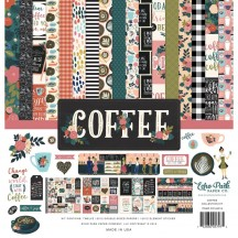 "Echo Park Coffee 12""x12"" Collection Kit CO164016"